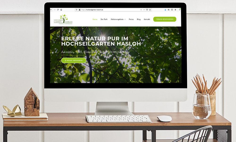 Referenz - Hochseilgarten Hasloh